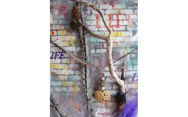 Graffiti di una vita (dettaglio) - Cinzia Airaghi